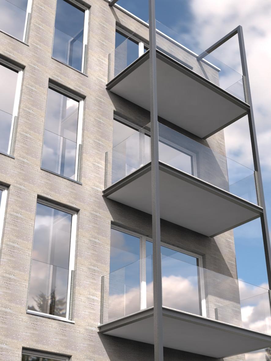 Balkone von Deutsche Metall
