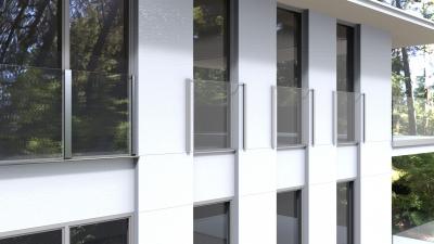 Französische Balkone von Deutsche Metall